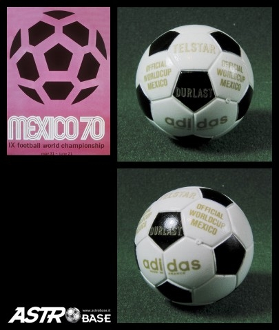 1970 WORLD CUP Mexico Adidas TELSTAR