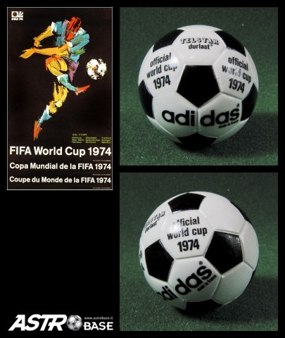 1974 WORLD CUP Germany Adidas DURLAST TELSTAR