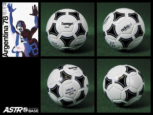 1978 WORLD CUP Argentina Adidas TANGO DURLAST