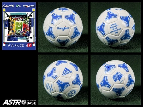 1998 WORLD CUP France Adidas TANGO TRICOLORE