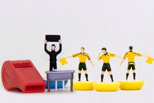 Set arbitrale giallo FIFA