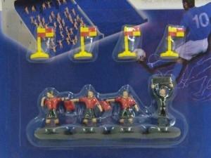 Set arbitrale ZEUGO rosso