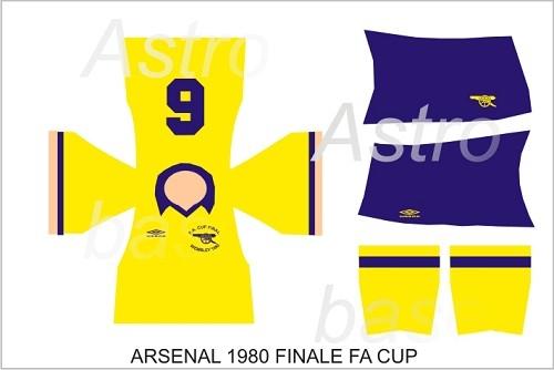 Arsenal finale FA CUP 1980
