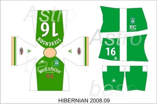 Hibernian 2008/2009