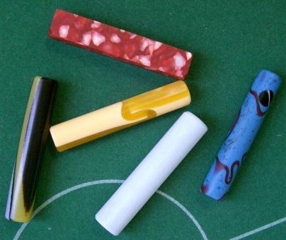 Manico cilindrico in plastica