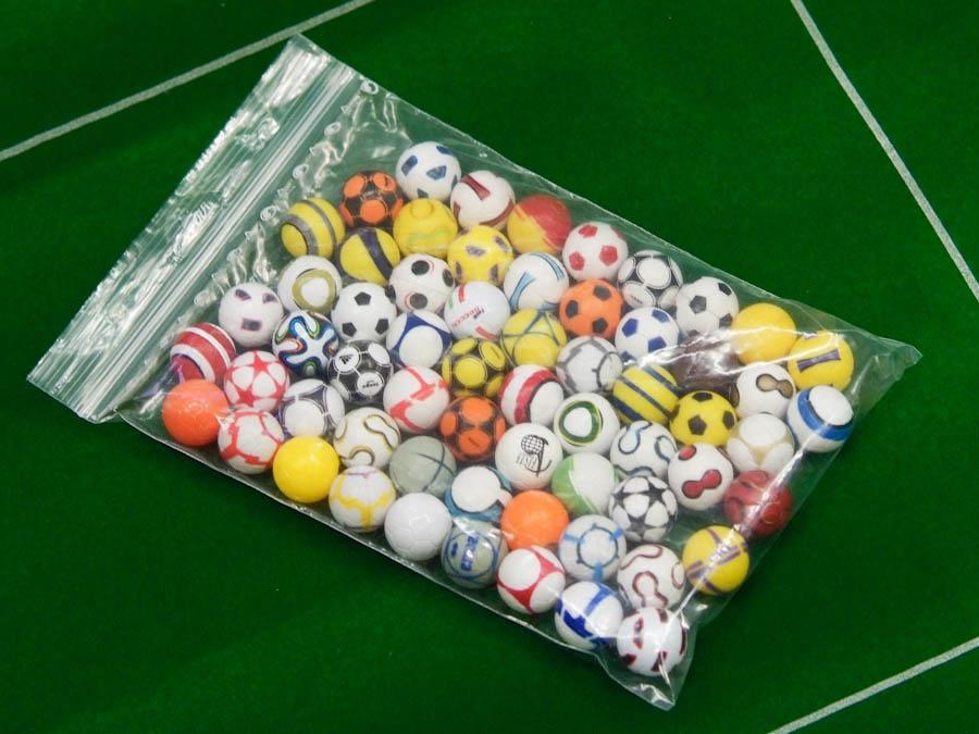 0 – Set di palline assortite a vostra scelta
