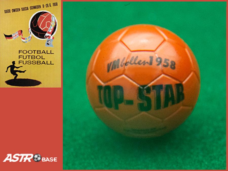 1958 WORLD CUP Sweden TOP-STAR