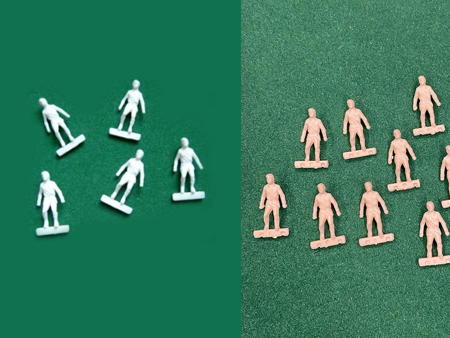 Figure Soccer3D HW non dipinte