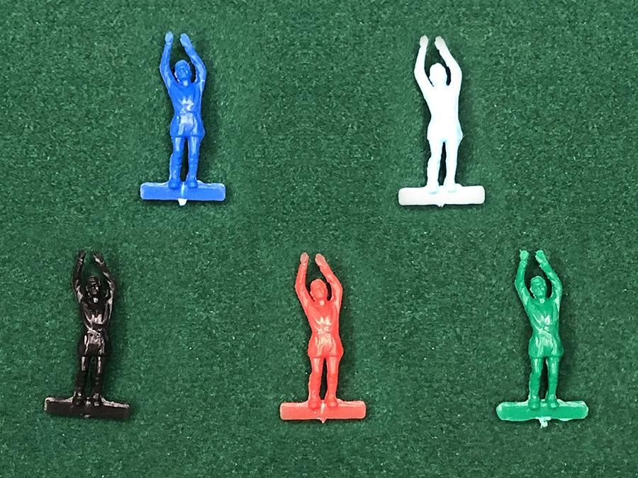 Portiere Soccer3D figura NON dipinta