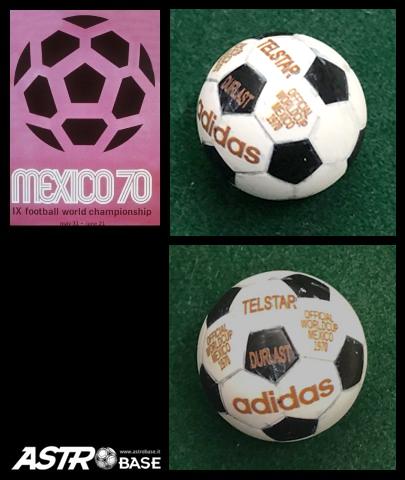 1970 WORLD CUP Mexico Adidas TELSTAR EFFETTO FINE PARTITA
