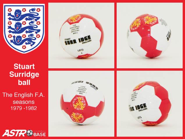 English FA Mitre STUART SURRIDGE