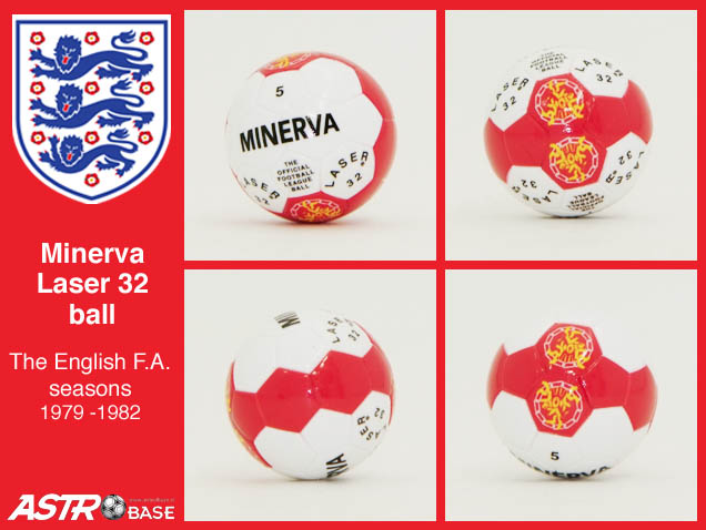 English FA Mitre MINERVA LASER 32