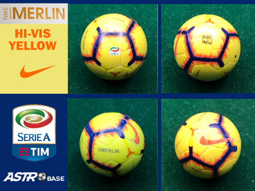 Serie A Nike MERLIN YELLOW