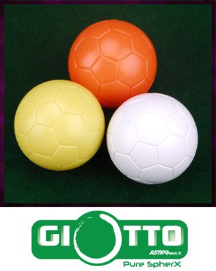 Palline GIOTTO (pallina perfetta per torneo)