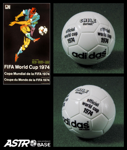 1974 WORLD CUP Germany Adidas DURLAST CHILE