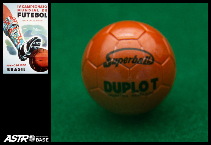 1950 WORLD CUP Brazil DUPLO-T