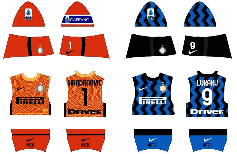 Inter home 2020/2021