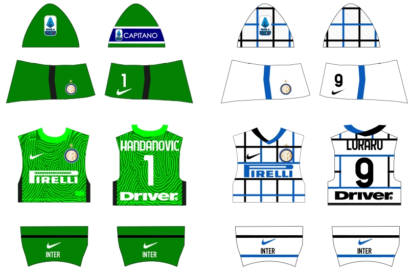 Inter away 2020/2021