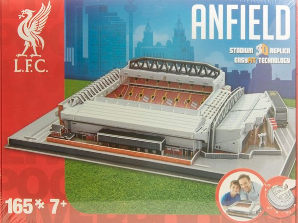 Stadio in 3D LIVERPOOL (ANFIELD)