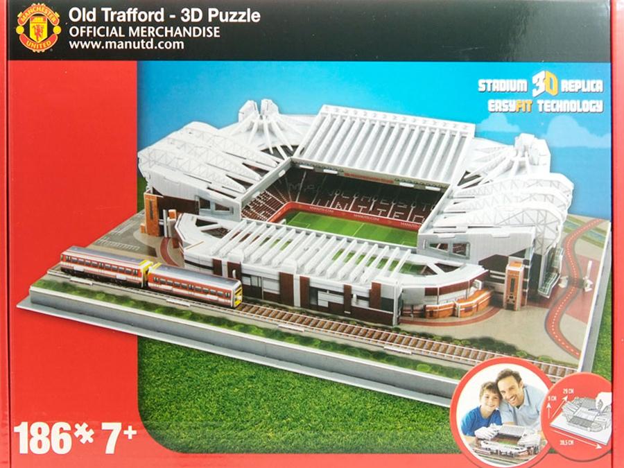 Stadio in 3D MANCHESTER Utd (OLD TRAFFORD)