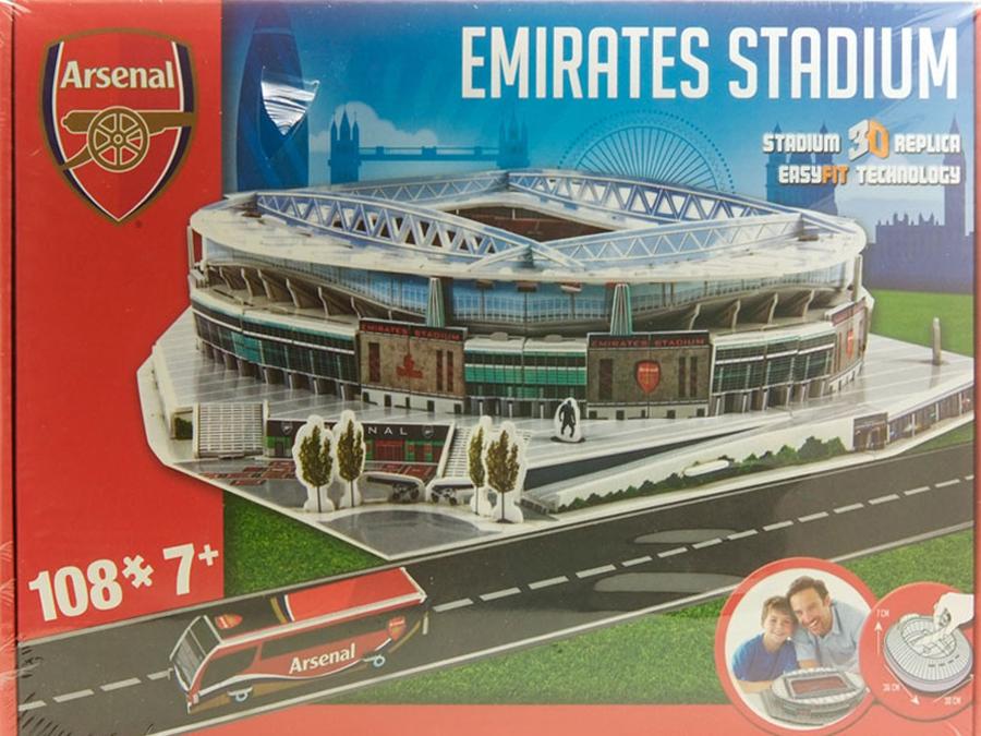 Stadio in 3D ARSENAL (EMIRATES STADIUM)