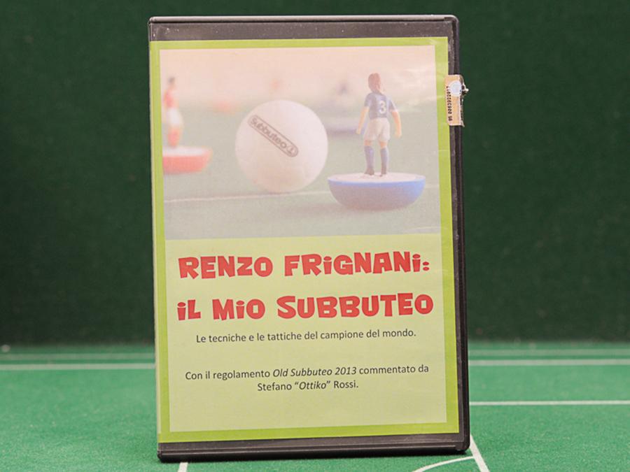 DVD RENZO FRIGNANI: IL MIO SUBBUTEO