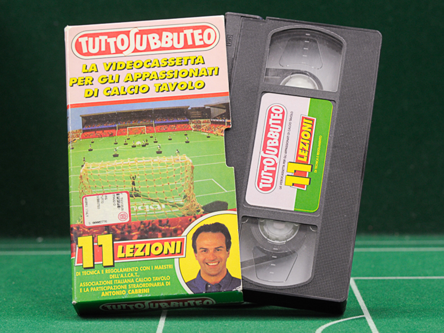 Videocassetta TUTTOSUBBUTEO – 11 Lezioni